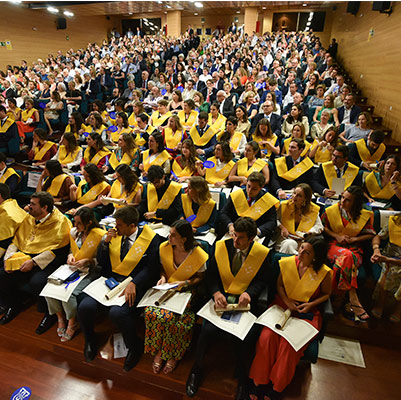 medicina graduacion 19 18 13 Actos académicos curso 2018/2019 Estudiar en Universidad Privada Madrid