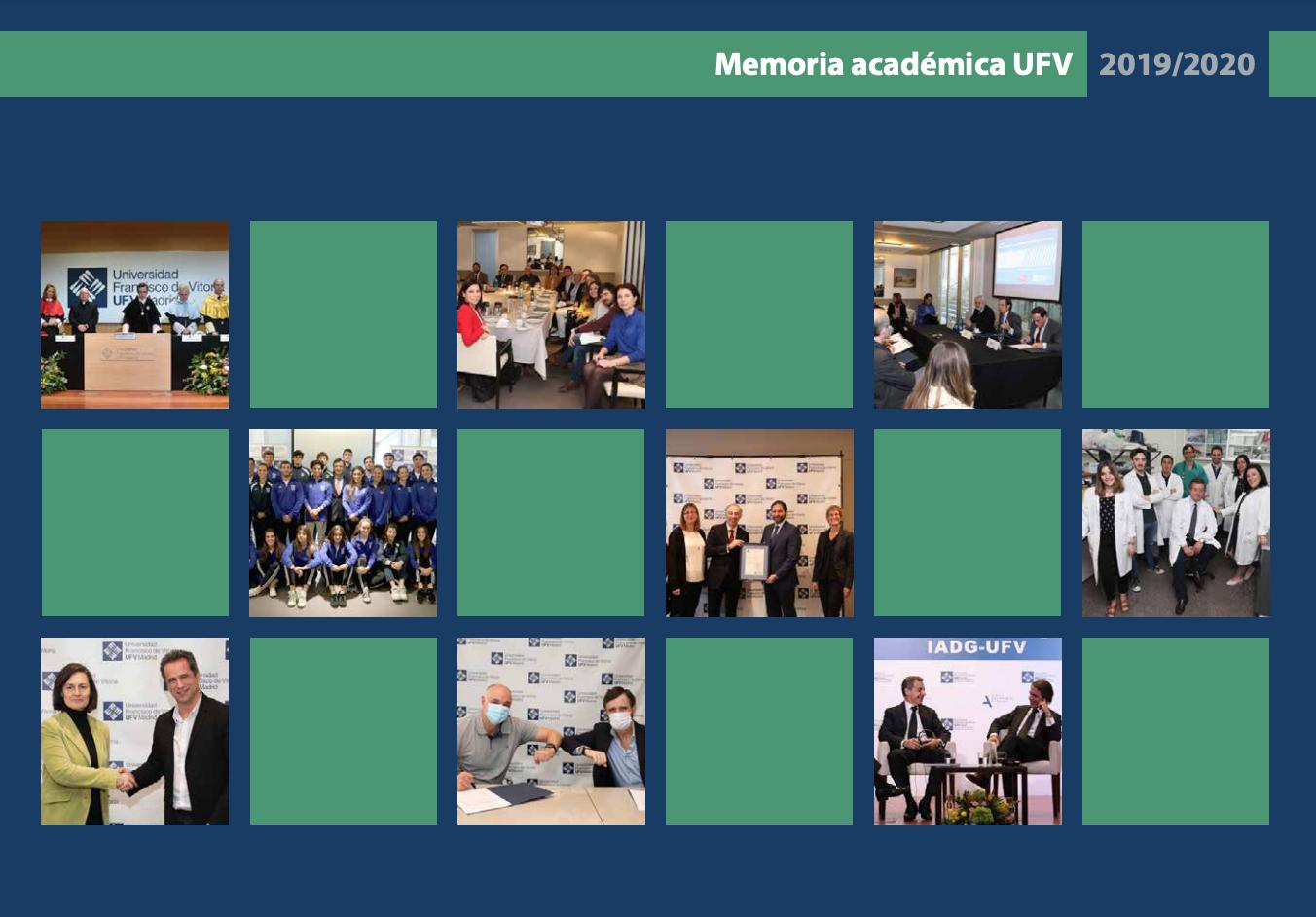 memoria academica1920 UFV SOSTENIBLE Estudiar en Universidad Privada Madrid