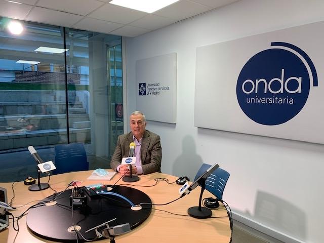 podcast alberto actualidad UFV Estudiar en Universidad Privada Madrid