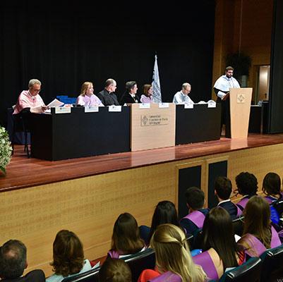 psicologia graduacion 19 18 11 Actos académicos curso 2018/2019 Estudiar en Universidad Privada Madrid