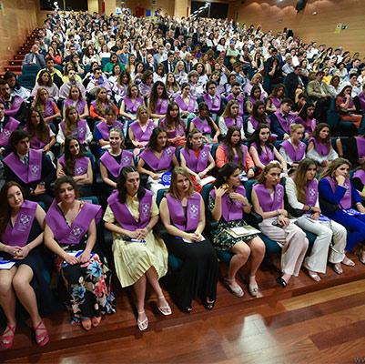 psicologia graduacion 19 18 13 Actos académicos curso 2018/2019 Estudiar en Universidad Privada Madrid