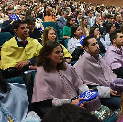 psicologia graduacion 19 18 14 Actos académicos curso 2018/2019 Estudiar en Universidad Privada Madrid