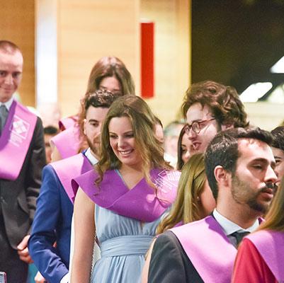psicologia graduacion 19 18 16 Actos académicos curso 2018/2019 Estudiar en Universidad Privada Madrid