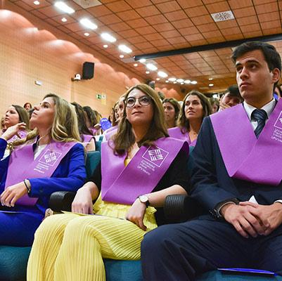 psicologia graduacion 19 18 17 Actos académicos curso 2018/2019 Estudiar en Universidad Privada Madrid