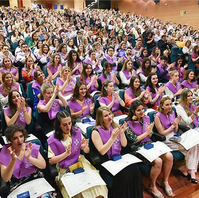 psicologia graduacion 19 18 22 Actos académicos curso 2018/2019 Estudiar en Universidad Privada Madrid