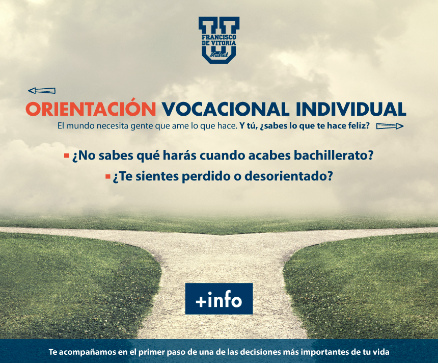 vocacion propuestas Orientación universitaria Estudiar en Universidad Privada Madrid