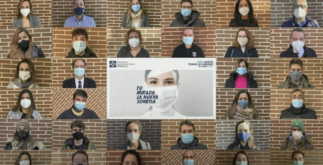 ST La UFV celebra la XVIII Jornada de Santo Tomás bajo el lema Tu mirada, la nueva sonrisa Estudiar en Universidad Privada Madrid