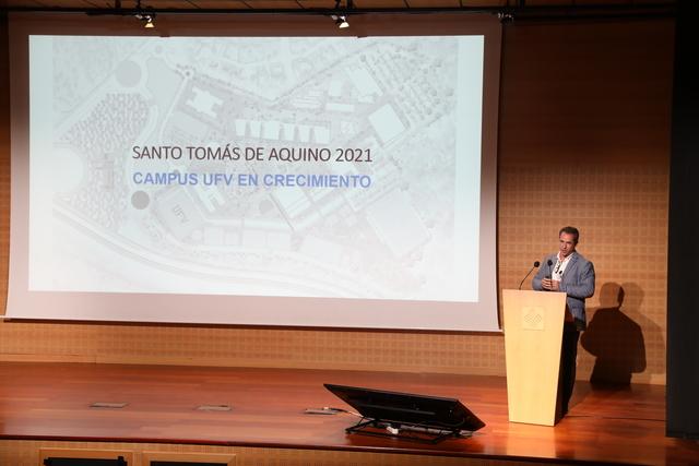 XVIII Jornada de Santo Tomas 3 La UFV celebra la XVIII Jornada de Santo Tomás bajo el lema Tu mirada, la nueva sonrisa Estudiar en Universidad Privada Madrid