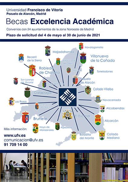 becas ayuntamiento 2021 BECAS POR EXPEDIENTE ACADÉMICO PARA ALUMNOS DE AYUNTAMIENTOS DE LA ZONA Estudiar en Universidad Privada Madrid