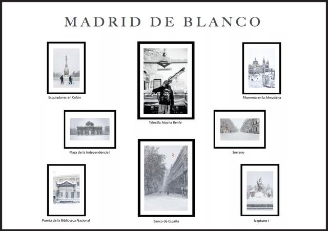 maria morenes Madrid de blanco, la exposición de María Morenés que presenta la nevada en la capital Estudiar en Universidad Privada Madrid