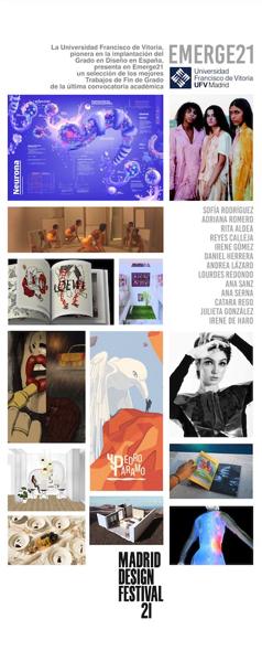 roll up emerge 21 La UFV participa en el encuentro internacional Madrid Design Festival por tercer año consecutivo Estudiar en Universidad Privada Madrid
