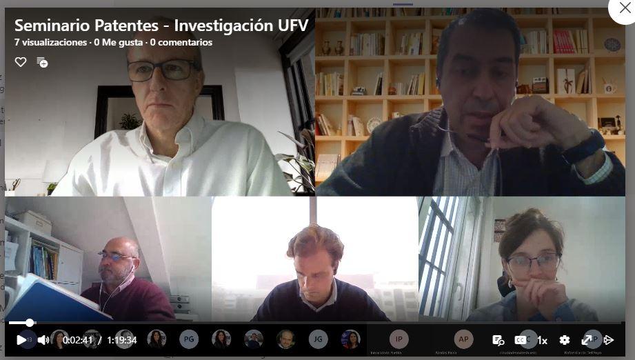 seminario patentes 1 Más de 40 profesores e investigadores asisten al seminario sobre patentes organizado por la OTRI Estudiar en Universidad Privada Madrid