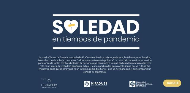 soledad Profesores y alumnos de la UFV reflexionan sobre el desafío de la soledad en un reportaje multimedia Estudiar en Universidad Privada Madrid