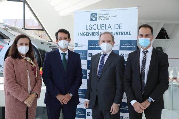 Convenio CTI MSI 2 La UFV y CT Ingenieros firman un convenio de colaboración en materia de formación e investigación Estudiar en Universidad Privada Madrid