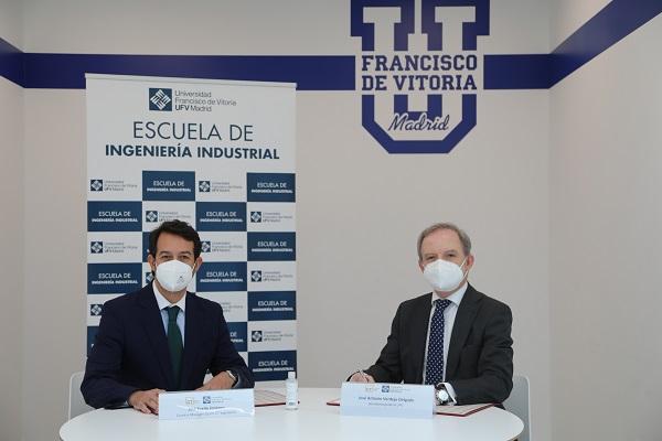 Convenio CTI MSI La UFV y CT Ingenieros firman un convenio de colaboración en materia de formación e investigación Estudiar en Universidad Privada Madrid