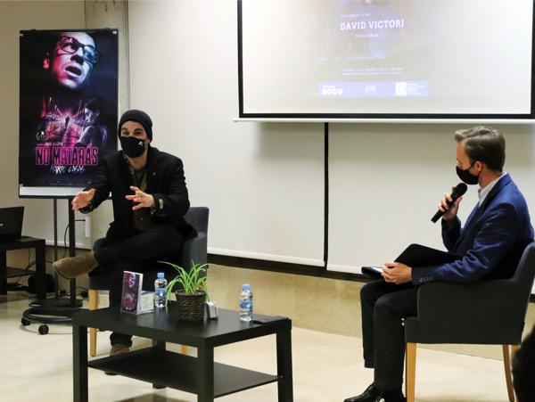 David Victori  David Victori, director de cine, visita el Colegio Mayor de la UFV Estudiar en Universidad Privada Madrid