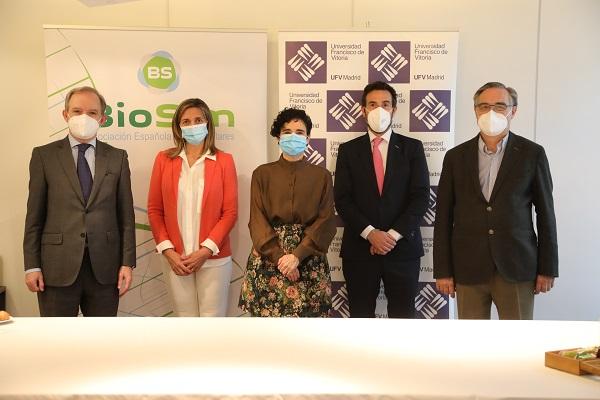 Grupo UFV BioSim La Universidad Francisco de Vitoria de Madrid y BioSim colaboran en la formación de los profesionales de la salud del futuro Estudiar en Universidad Privada Madrid