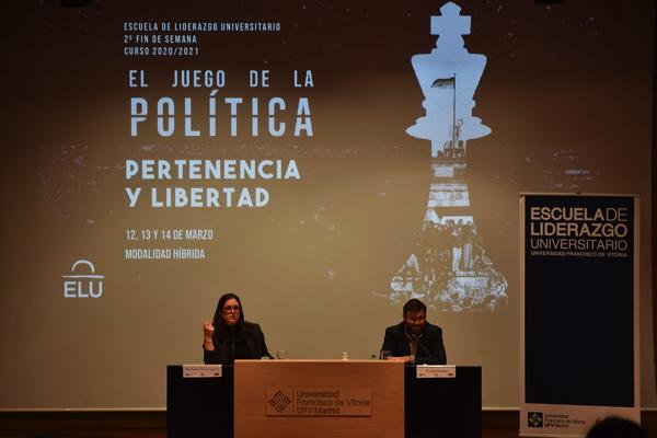 II FDS ELU La UFV ha acogido el II Fin de Semana ELU: 'El juego de la política: pertenencia y libertad' Estudiar en Universidad Privada Madrid