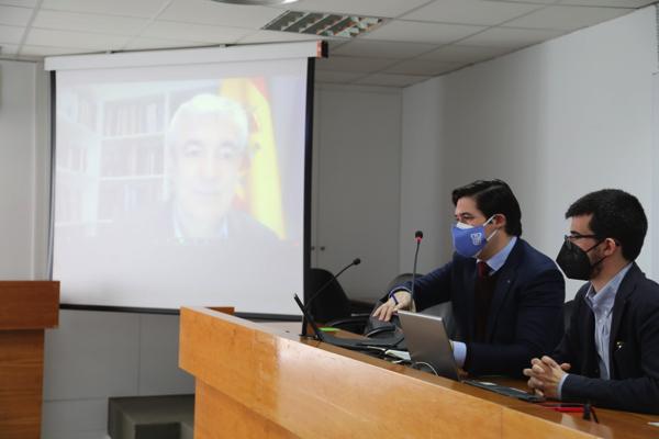 Luis Garicano Luis Garicano, eurodiputado de Ciudadanos, participa en el coloquio de la Sociedad de Estudios Políticos UFV Estudiar en Universidad Privada Madrid