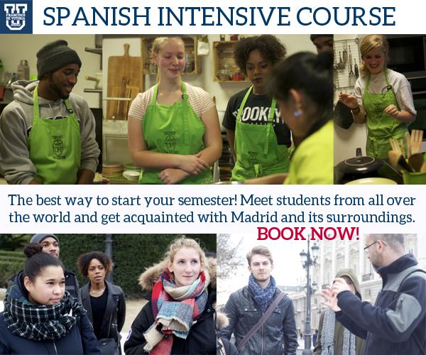 Spanish intensive course UFV incoming students CURSO INTENSIVO DE LENGUA Y CULTURA ESPAÑOLA Estudiar en Universidad Privada Madrid