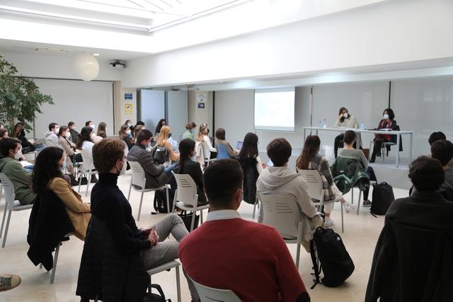 embajadora chipre Cristiana Tzika, cónsul de la República de Chipre en España, visita la UFV Estudiar en Universidad Privada Madrid