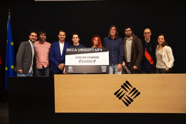 Beca Ubisoft 2019 La UFV convoca la II beca Ubisoft UFV para cursar formación en videojuegos Estudiar en Universidad Privada Madrid