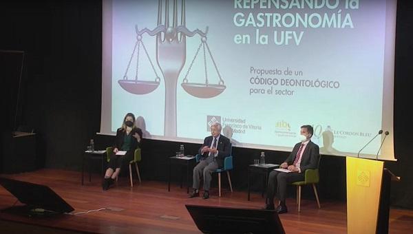 Codigo Deontologico Gastronomia La Universidad Francisco de Vitoria propone el primer Código Deontológico para el sector de la Gastronomía Estudiar en Universidad Privada Madrid