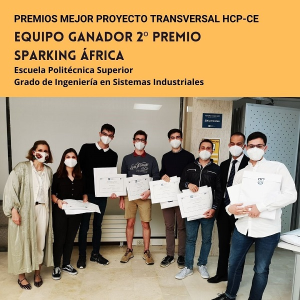 Grupo 2 Se entregan los premios a los grupos ganadores del mejor proyecto transversal HCP CE Estudiar en Universidad Privada Madrid