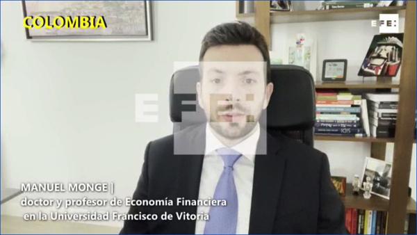 Manuel Monge Manuel Monge, profesor de la UFV, analiza las perspectivas económicas de Iberoamérica en EFE Estudiar en Universidad Privada Madrid