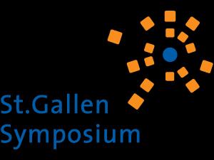 St Gallen symposium logo Becas y oportunidades Estudiar en Universidad Privada Madrid