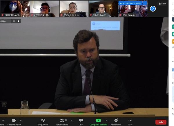 encuentro online ufv La UFV inaugura un nuevo ciclo de Mesas de Debate con Iván Espinosa de los Monteros Estudiar en Universidad Privada Madrid