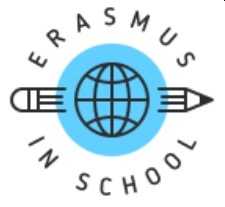 logo erasmus in school Becas y oportunidades Estudiar en Universidad Privada Madrid