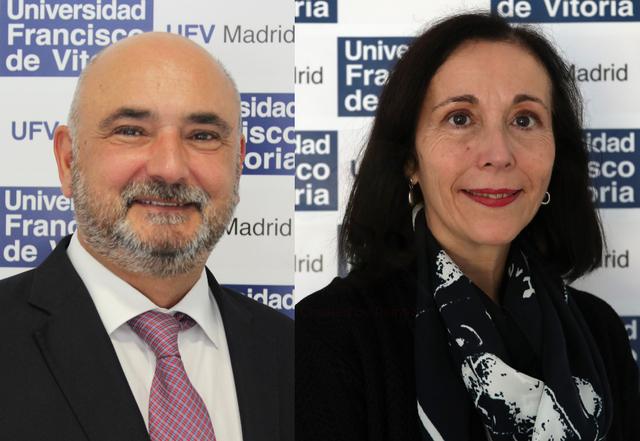 ramon caridad2 Ramón Fernández de Caleya y Caridad Maylín, premio a la mejor comunicación temática en el VIII Congreso Internacional AFIDE Estudiar en Universidad Privada Madrid