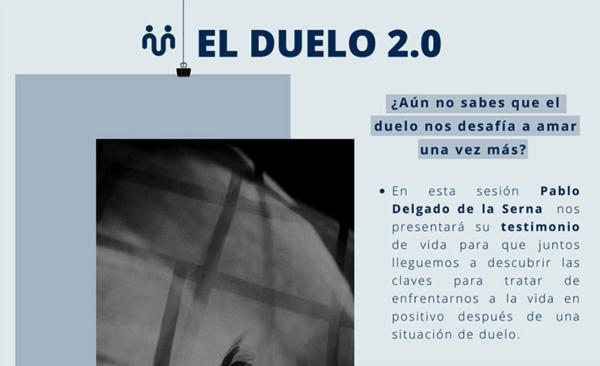 El Duelo Pablo Delgado de la Serna, profesor de la UFV, dará hoy su testimonio de vida en las píldoras formativas UnoMásUno: El Duelo Estudiar en Universidad Privada Madrid