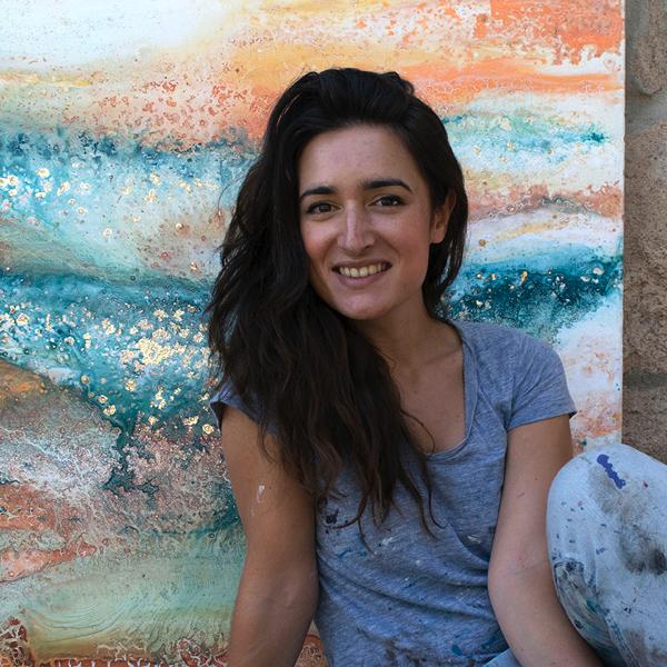Elisa de la Torre Elisa de la Torre, alumni y profesora de la UFV, participa en la feria Art Madrid Estudiar en Universidad Privada Madrid