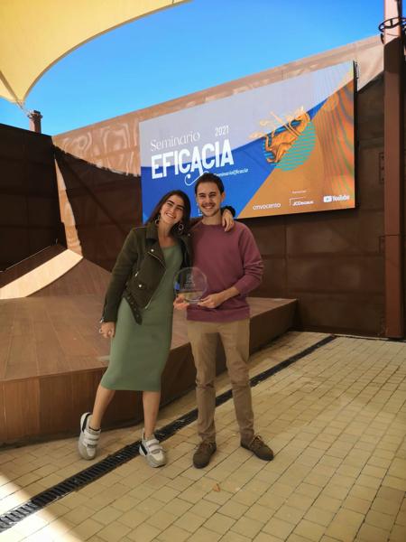 IMG 20210513 WA0006 1 Alumnos del Grado en Publicidad reciben el galardón de la II edición de los Premios Eficacia 2020 Estudiar en Universidad Privada Madrid