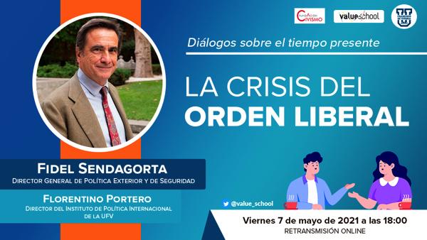 Portada serie diálogos 7 mayo La UFV organiza el ciclo Diálogo sobre el tiempo presente Estudiar en Universidad Privada Madrid