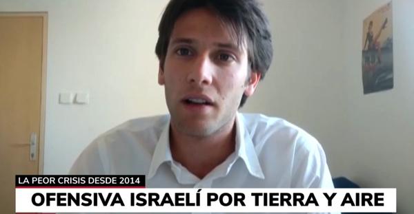 Rodrigo Arce Telemadrid El alumno Rodrigo Arce cuenta en COPE cómo está viviendo su año de Erasmus en Jerusalén Estudiar en Universidad Privada Madrid