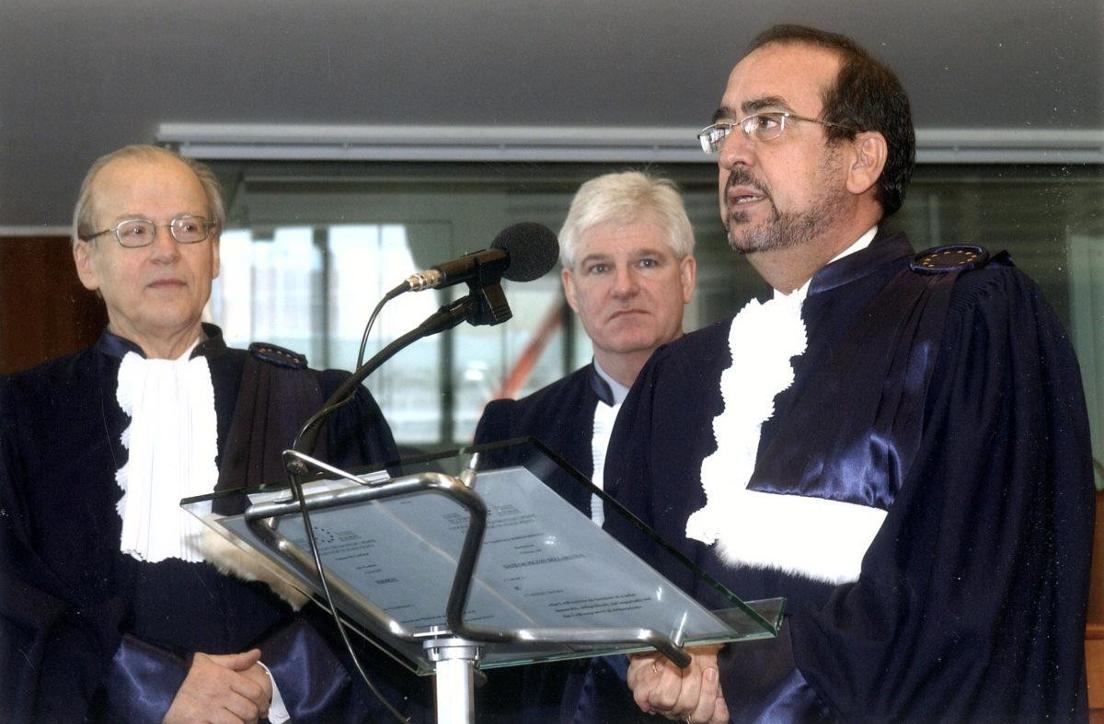 """borrego3 Javier Borrego, exmagistrado del Tribunal Europeo de Derechos Humanos y T. Supremo, en el Seminario Permanente de Estudio Jurídico: Hay un intento de sustituir al Hombre como titular de los Derechos Humanos"""" Estudiar en Universidad Privada Madrid"""