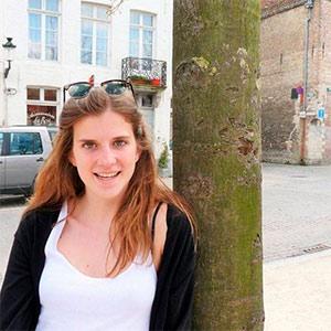 louise denoiseux estudiante belga ufv Programa intercultural Estudiar en Universidad Privada Madrid