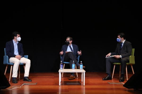 marhuenda2 Francisco Marhuenda visita la Sociedad de Estudios Políticos UFV: Ser periodista implica tener unos valores y principios éticos, y separar información de opinión Estudiar en Universidad Privada Madrid