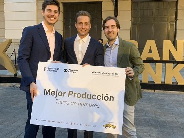 Alumnos Premiados Alumnos UFV, premiados en la XI Edición de los Villanueva Showing Films Awards 2021 Estudiar en Universidad Privada Madrid