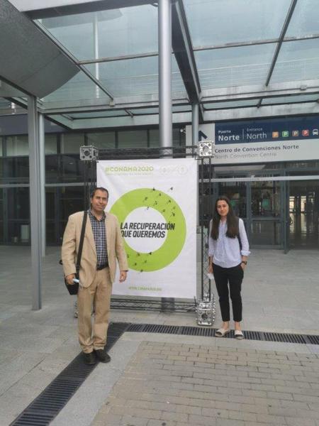 Cátedra de Inmigración  Miguel Osorio e Irene Ortiz, de la Cátedra de Inmigración de la UFV, participan con un comunicado sobre sostenibilidad e inclusión social en el Congreso Nacional de Medioambiente Estudiar en Universidad Privada Madrid