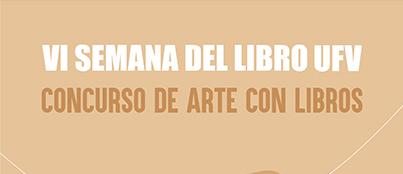 Cabecera Arte con libros Actividades Culturales Estudiar en Universidad Privada Madrid