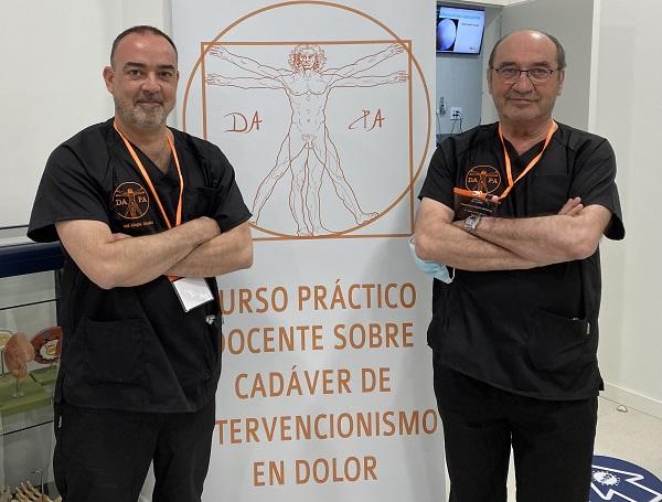 Curso 1 Especialistas en dolor de toda España aprenden con donantes criopreservados las novedades del tratamiento intervencionista Estudiar en Universidad Privada Madrid