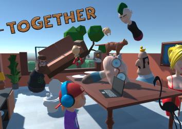PORTADA GET TOGETHER videojuegos get together Estudiar en Universidad Privada Madrid