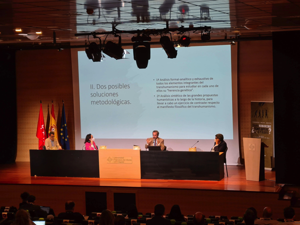 """mesa genesis historico cultural Comienza el Congreso Razón Abierta sobre Transhumanismo con la charla de Anders Sandberg: """"El debate fundamental en torno a este tema radica en si seguiremos siendo humanos, o, por el contrario, perderemos nuestra esencia humana"""" Estudiar en Universidad Privada Madrid"""