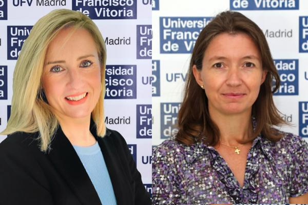 sofia zulema Sofía Borgia y Zulema Calderón participan en eI Congreso Internacional de innovación en la docencia e investigación de las Ciencias Sociales y Jurídicas Estudiar en Universidad Privada Madrid