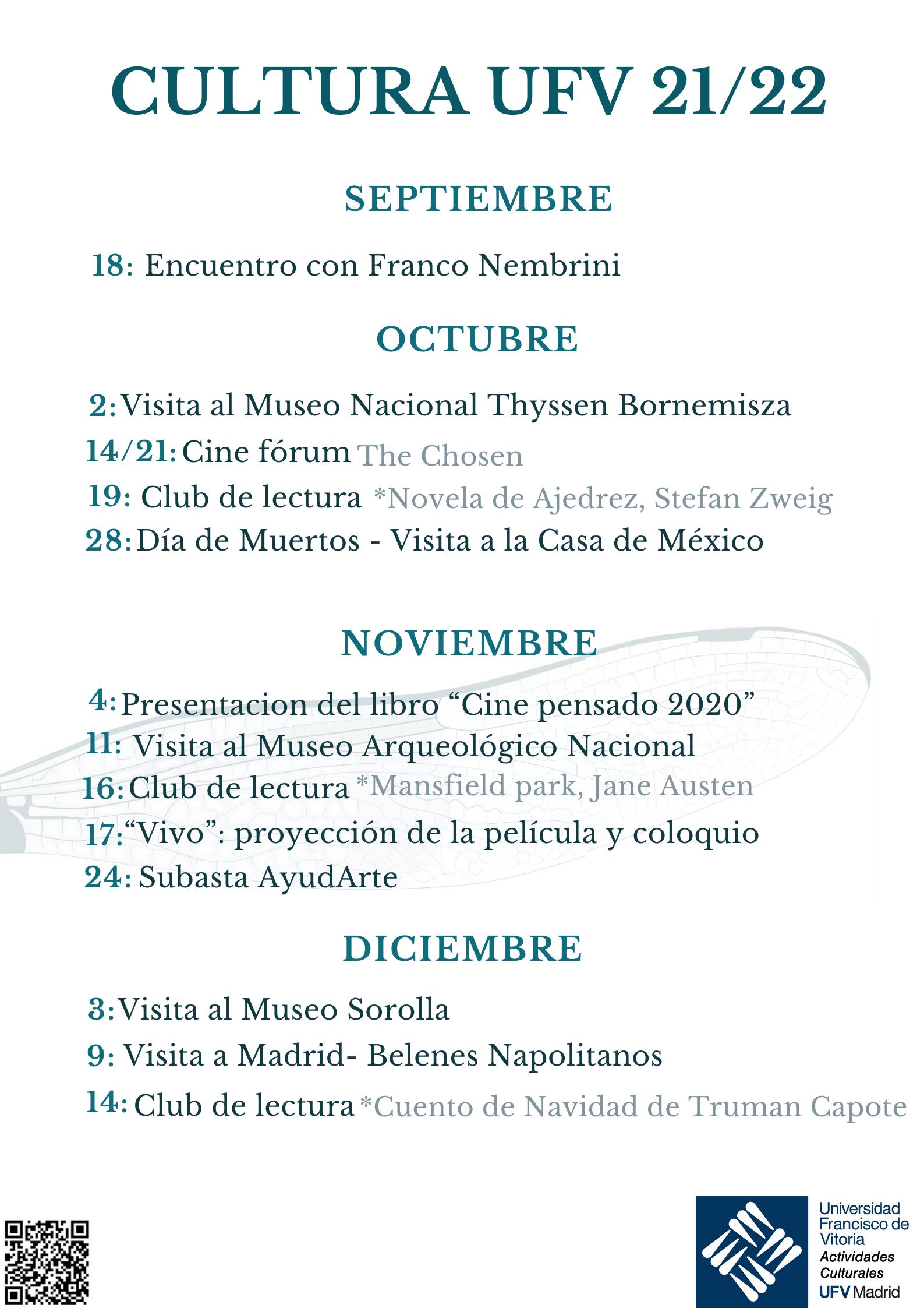 1 Actividades Culturales Estudiar en Universidad Privada Madrid