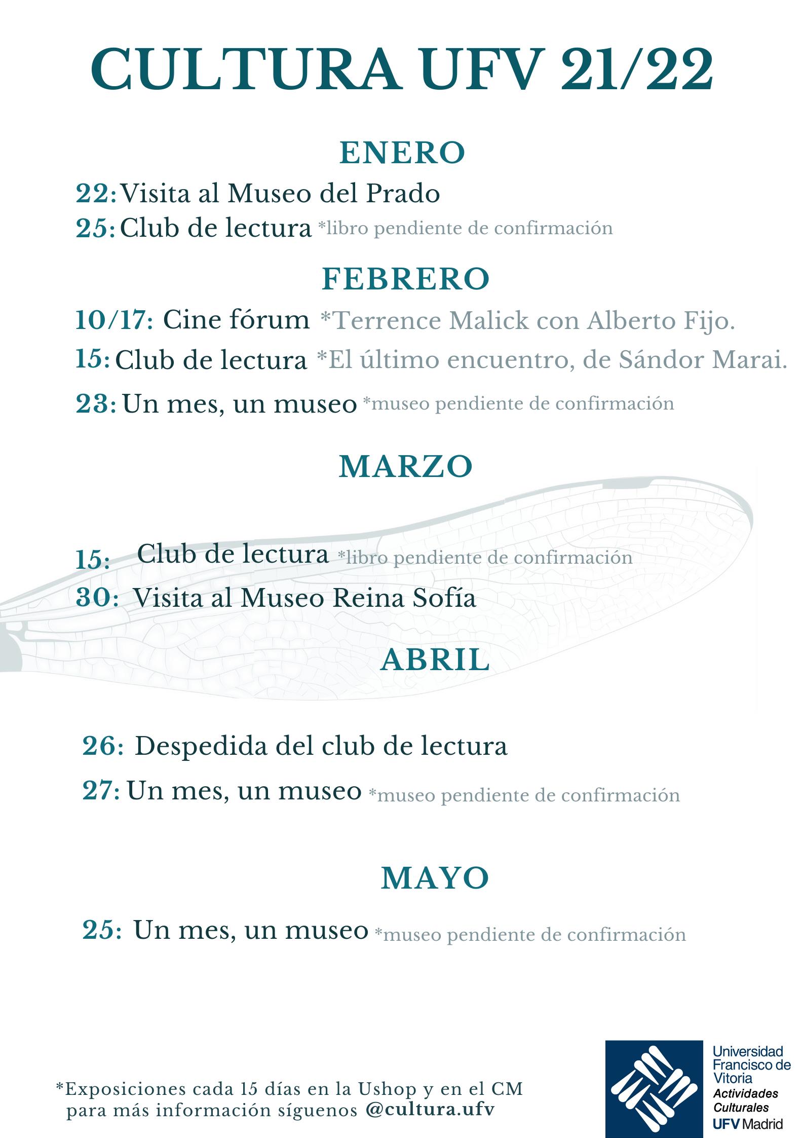 2 Actividades Culturales Estudiar en Universidad Privada Madrid